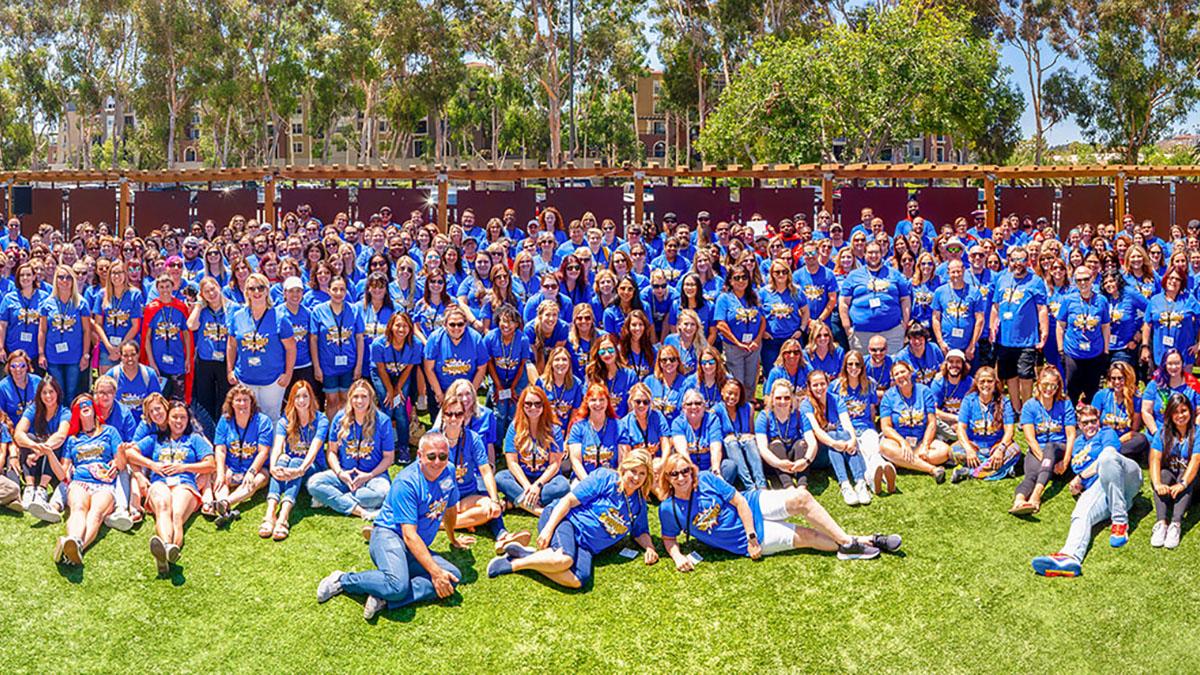 Staff retreat group photo