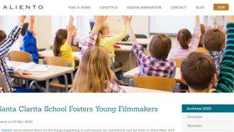 Santa Clarita School Fosters Young Filmmakers