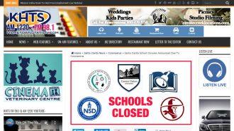 Santa Clarita School Closures Announced Due To Coronavirus