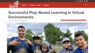 Successful Play-Based Learning in Virtual Environments