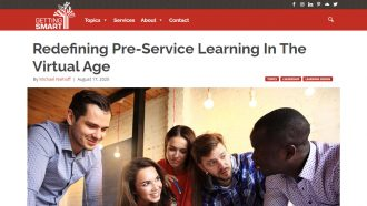 Redefining Pre-Service Learning In The Virtual Age