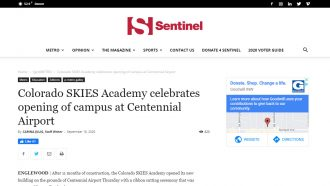 Colorado SKIES Academy celebrates opening of campus at Centennial...