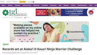 Records set at Alaka'i O Kaua'i Ninja Warrior Challenge