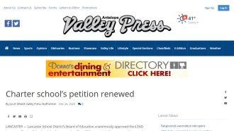 iLEAD Lancaster Charter School's petition renewed