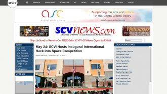 May 24: SCVi Hosts Inaugural International Hack into Space...