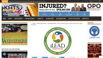 iLEAD Agua Dulce approved for 2018/19 school year