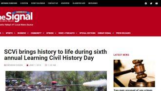 Civil War history comes to life at Rancho Camulos