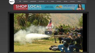 Video coverage of Civil War day