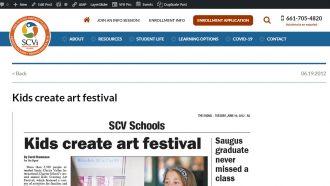 Kids Create Art Festival