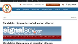 Candidates discuss state of education at forum