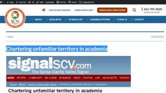 Chartering unfamiliar territory in academia