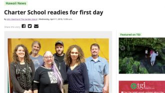 Charter School readies for first day