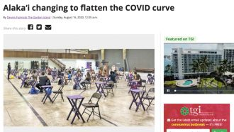 Alaka'i changing to flatten the COVID curve