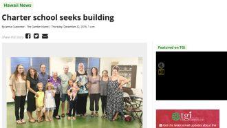 Charter school seeks building