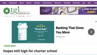 Hopes still high for charter school