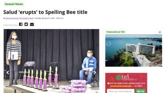 Salud 'erupts' to Spelling Bee title