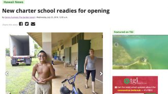 New charter school readies for opening