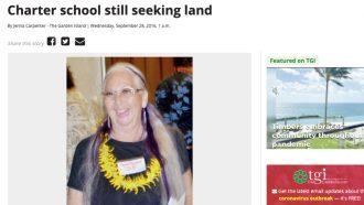 Charter school still seeking land