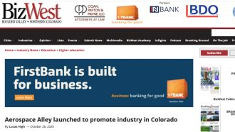 Aerospace Alley launched to promote industry in Colorado