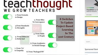 8 Switches To Update Project-Based Learning In The 21st...